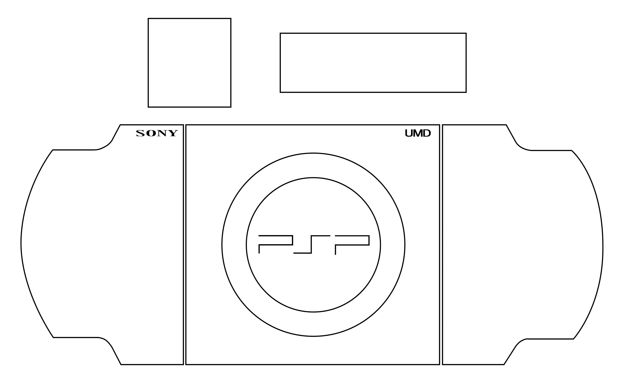 PSP 2000 Template by 浅見屋