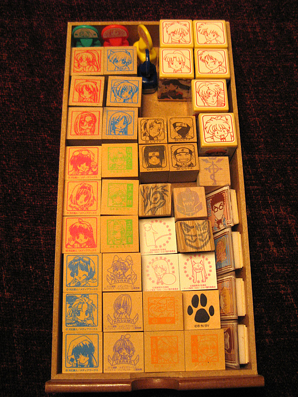 Japanese Ink Stamps Not Just For Craft Nerds Plastic