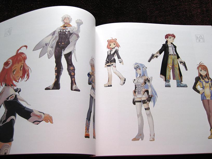 "Xenosaga Character Design : Artbook review tanaka kunihiko s ""ryu kotsu plastic"
