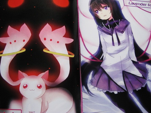 Kyuubey and Homura